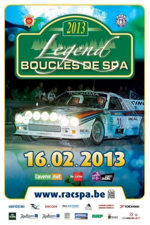 Legend Boucles de Spa 2013