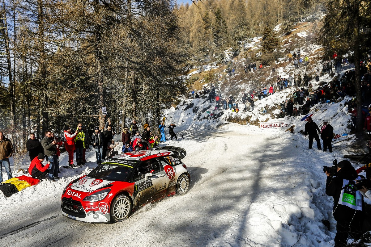 Kris Meeke (IRL) / Paul Nagle (GB) - Citroen DS3 WRC FIA WORLD RALLY CHAMPIONSHIP 2016 -WRC Monte Carlo (FRA) -  WRC 18/01/2016 to 24/01/2016 - PHOTO :  @World